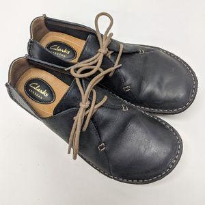 Clark's Artisan Leather Janey Mae Oxfords sz 6